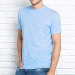 Camiseta de manga corta barata personalizada